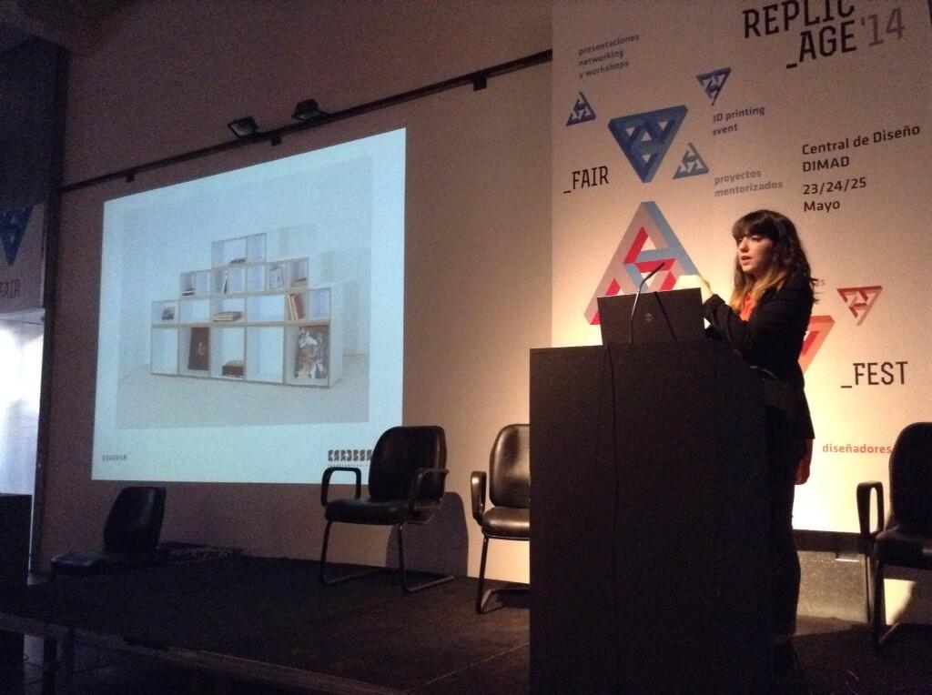 Inma León from Cardboard Furniture and Projects