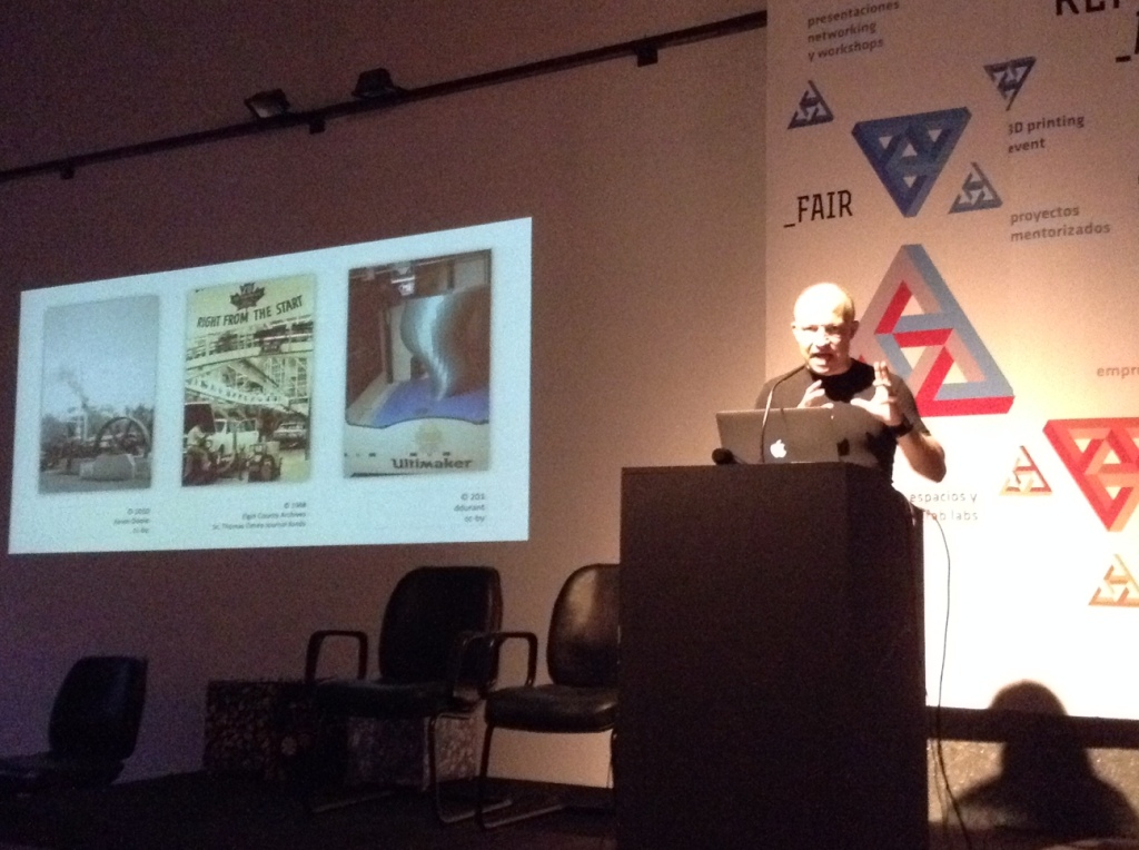 Peter Troxler at Replic_age 2014