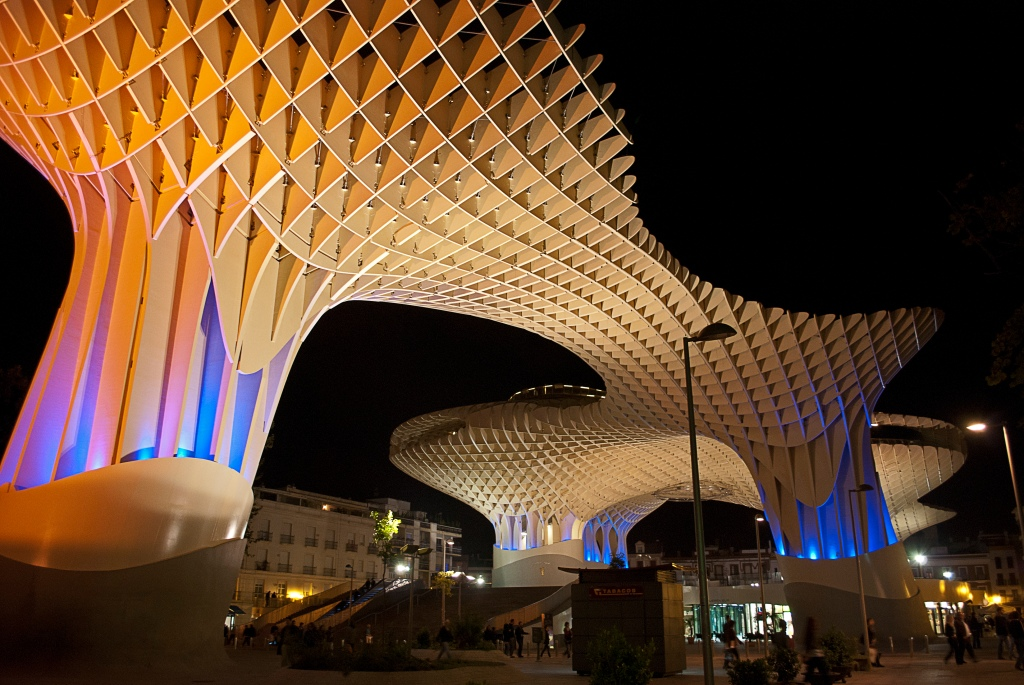 Metropol Parasol - Photo by Anual CC BY-SA 3.0