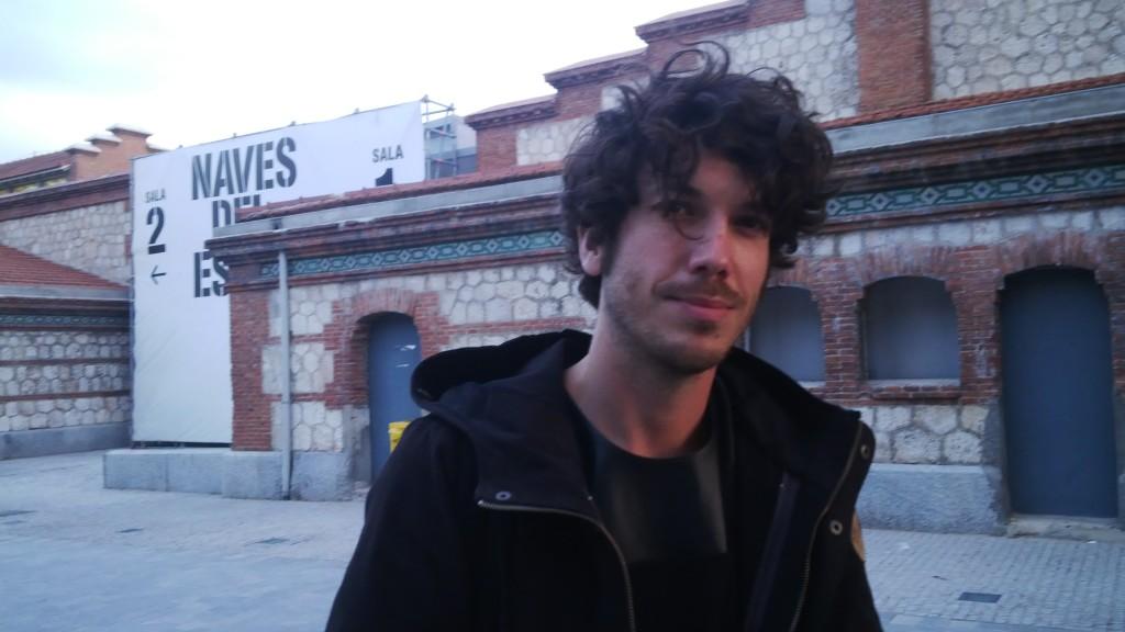 Oscar Tomico at Matadero Madrid