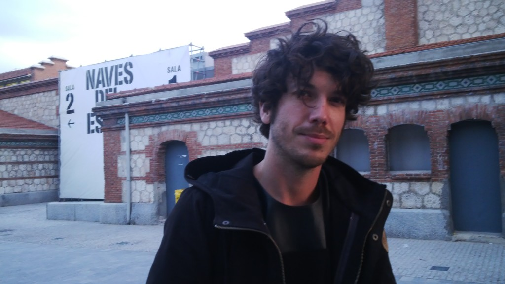 Oscar Tomico at Matadero Madrid