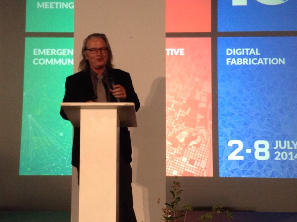 Bruce Sterling at Fab 10 Symposium