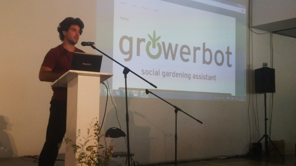 Luke Iseman from Growerbot at Fab 10 Barcelona