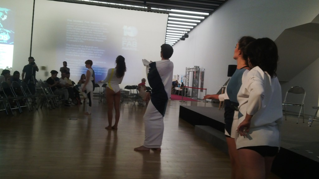 Wearable Fashion Orchestra performance