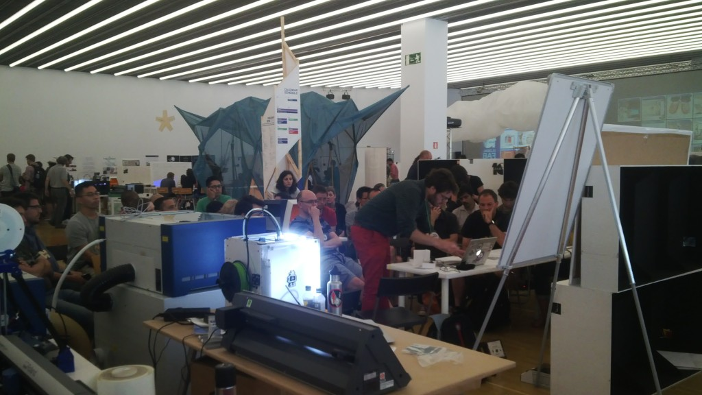 Workshop at Fab 10 Barcelona