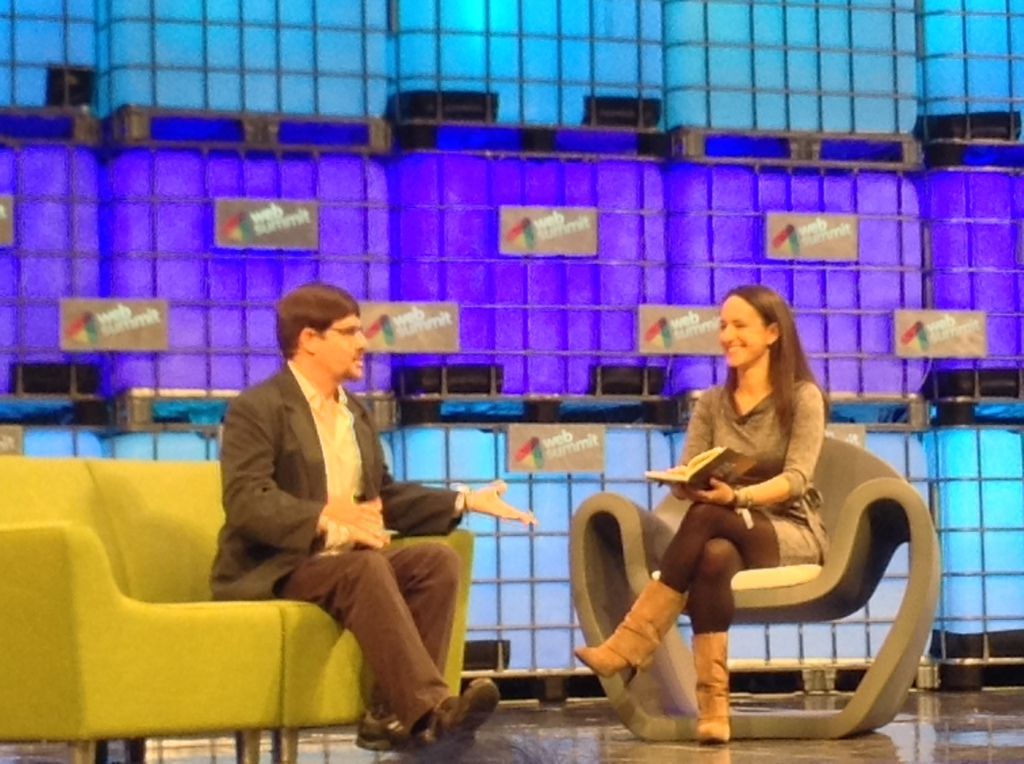 Gavin Andresen interviewed by Lisa Fleisher at the Web Summit